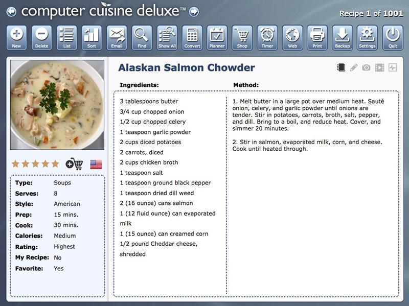 Click to view Computer Cuisine Deluxe screenshots