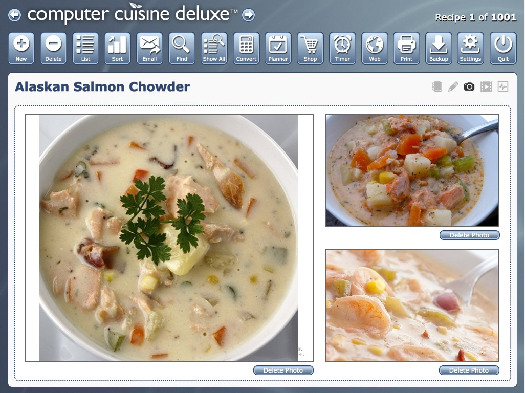 Computer cuisine deluxe home mac recipe software database for 3d cuisine deluxe