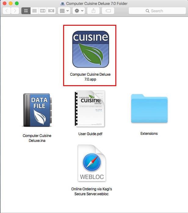 Computer Cuisine Deluxe Folder