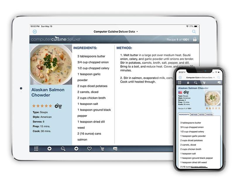 Computer Cuisine Deluxe iPhone & iPad